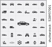 car icons universal set for web ... | Shutterstock . vector #528957001