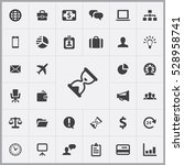 hourglass icon. business icons... | Shutterstock . vector #528958741
