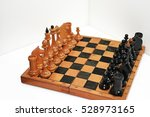 abstract composition of chess...
