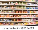 blurred image of vitamin store... | Shutterstock . vector #528976021
