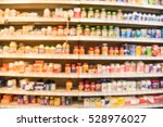 blurred image of vitamin store... | Shutterstock . vector #528976027
