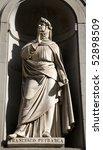 Постер, плакат: Florence Francesco Petrarca