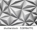 abstract geometric white... | Shutterstock .eps vector #528986791