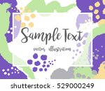 creative abstract colorful... | Shutterstock .eps vector #529000249
