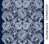 seamless  lace  floral  ... | Shutterstock .eps vector #529002229
