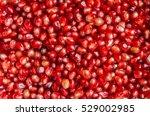 pomegranate seeds close up   Shutterstock . vector #529002985