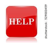 help icon. help website button... | Shutterstock . vector #529003459
