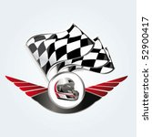racing sign | Shutterstock .eps vector #52900417