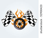 racing sign | Shutterstock .eps vector #52900423