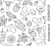 Seamless Doodle Pattern With...