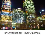 city lights blur. image for... | Shutterstock . vector #529012981