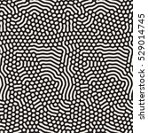organic irregular rounded lines.... | Shutterstock .eps vector #529014745