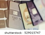credit cards | Shutterstock . vector #529015747