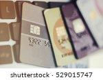 credit cards | Shutterstock . vector #529015747