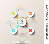 modern infographic design... | Shutterstock .eps vector #529020295