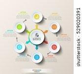 modern infographic design... | Shutterstock .eps vector #529020391