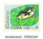 cuba   circa 1988  a stamp...   Shutterstock . vector #52902169