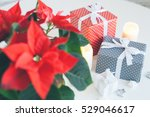 christmas and happy new year...   Shutterstock . vector #529046617