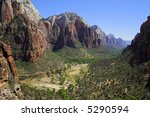 landscapes of zion national...   Shutterstock . vector #5290594