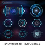 abstract background with... | Shutterstock .eps vector #529065511
