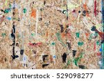 chipboard stained with... | Shutterstock . vector #529098277
