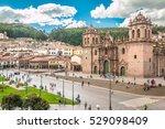 view of plaza de armas in cusco ... | Shutterstock . vector #529098409