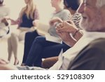 people in a counseling holding... | Shutterstock . vector #529108309