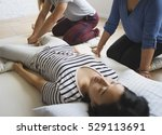 health wellness massage... | Shutterstock . vector #529113691
