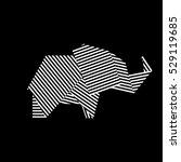 elephant vector illustration | Shutterstock .eps vector #529119685