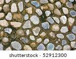Pebble Stone Road Texture