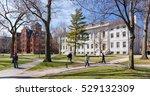 cambridge  ma  usa   april 9 ... | Shutterstock . vector #529132309