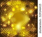 abstract background  gold light ... | Shutterstock .eps vector #529146415