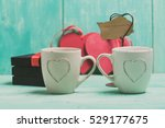 valentine's day coffee | Shutterstock . vector #529177675