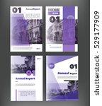 vector brochure cover template...   Shutterstock .eps vector #529177909