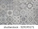ceramic tiles patterns | Shutterstock . vector #529195171