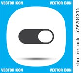 toggle on off vector icon....