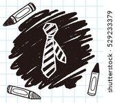 tie doodle | Shutterstock .eps vector #529233379