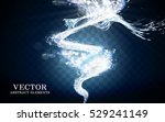 streak of freezing cold breath... | Shutterstock .eps vector #529241149