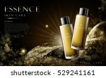 golden essence skin care... | Shutterstock .eps vector #529241161