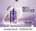 essence contained in purple...   Shutterstock .eps vector #529241314
