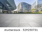 empty floor with modern... | Shutterstock . vector #529250731