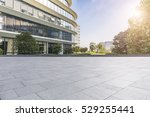 empty floor with modern... | Shutterstock . vector #529255441