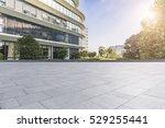 empty floor with modern...   Shutterstock . vector #529255441