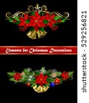christmas elements for your... | Shutterstock .eps vector #529256821