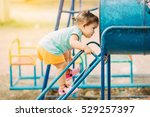 free play in the playground for ... | Shutterstock . vector #529257397