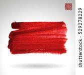 brush stroke and texture.... | Shutterstock .eps vector #529278229