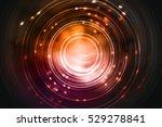 futuristic circular shape... | Shutterstock . vector #529278841