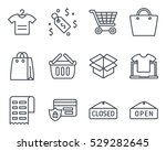 ecommerce icon vector outlined...
