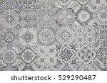 ceramic tiles patterns | Shutterstock . vector #529290487