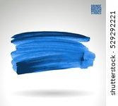 brush stroke and texture....   Shutterstock .eps vector #529292221